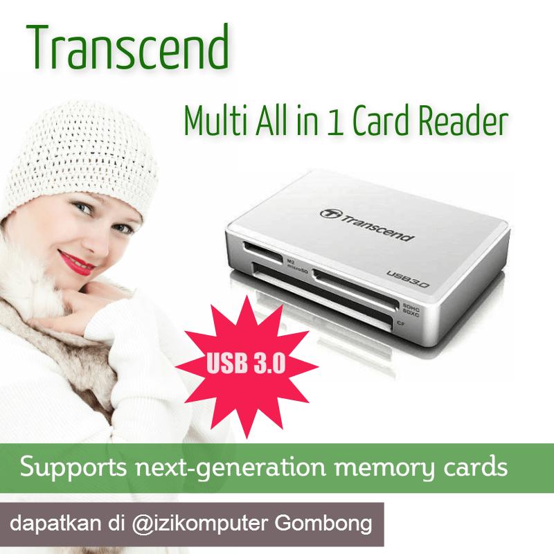 Harga Card Reader Transcend Usb 30Multi All In 1 Card