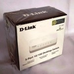 Switch Hub D-Link 5 port DES-1005A