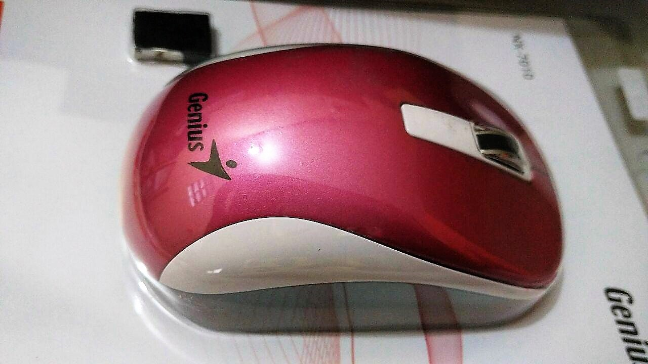 Mouse Wireless Genius Nx 7010 Izi Komputer