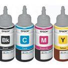 Tinta Botol Epson T664 untuk L100 L110 L120 L200 L210 L300 L310 L350