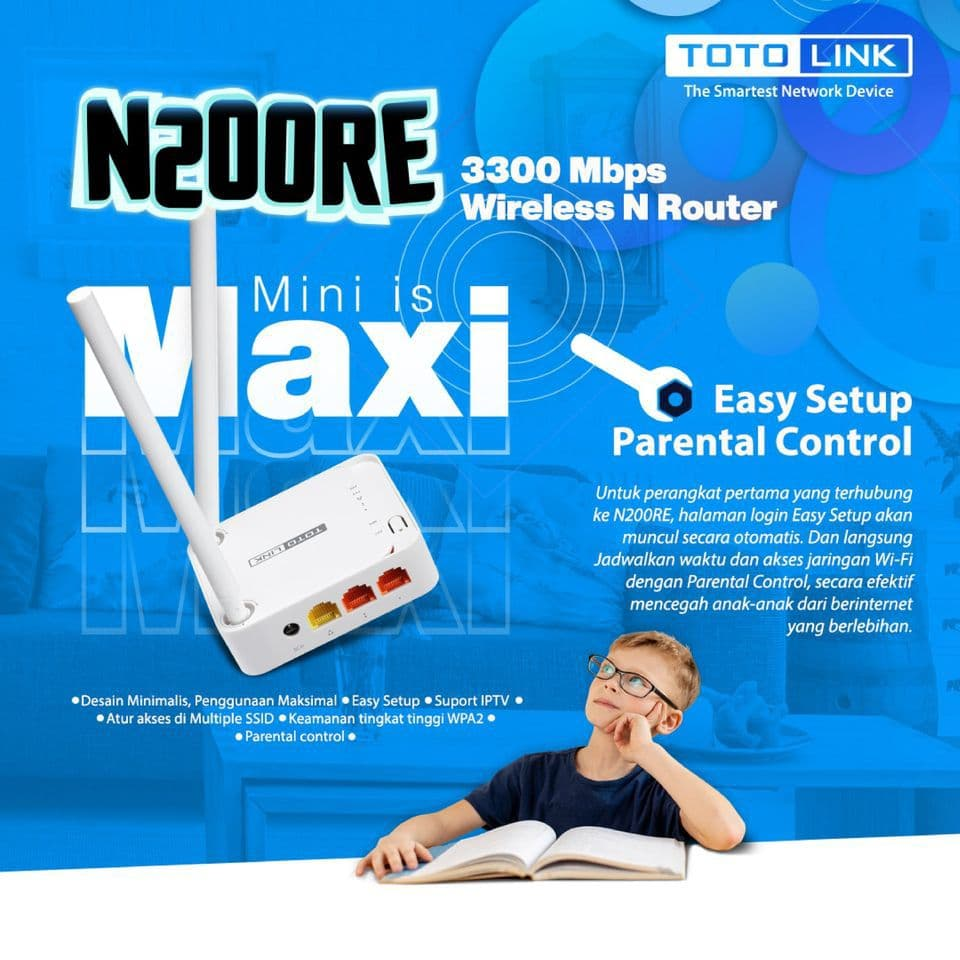 Router TOTOLINK N200RE Banner