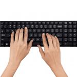 Keyboard Mouse Logitech Wireless Combo MK220