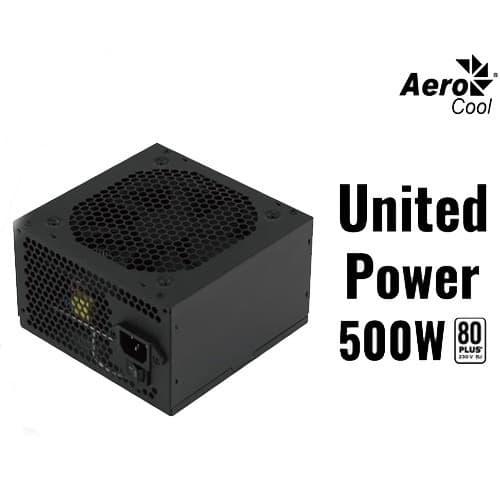 Power Supply AeroCool United Power 500W 80 Plus Bronze by Izikomputer Gombong