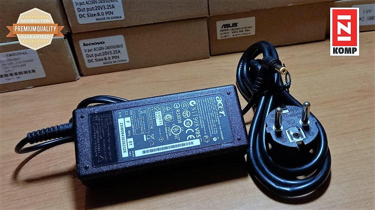 Adaptor Charger Acer 19v 3,42v