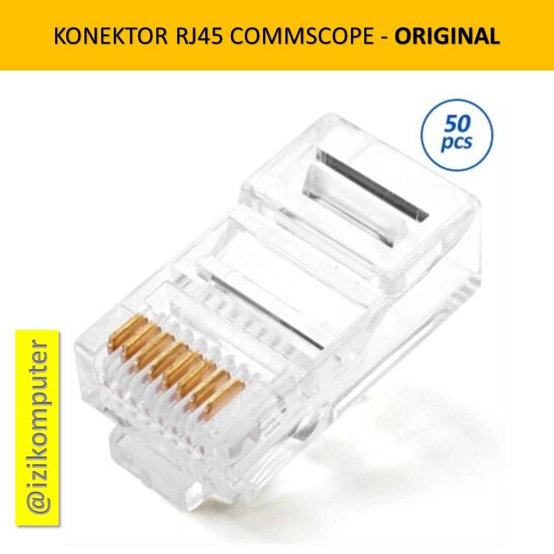 Konektor LAN RJ45 commscope AMP ORIGINAL