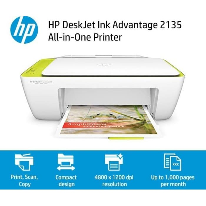 Printer HP DJ2135 Banner
