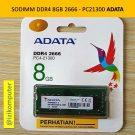 RAM Laptop Adata 8GB DDR4 2666 SO-DIMM PC4-21300