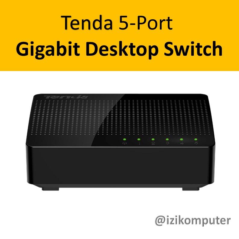 Tenda 5-Port Gigabit Desktop Switch - 1