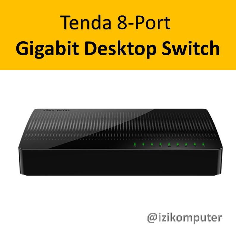 Tenda 8-Port Gigabit Desktop Switch - 1