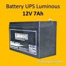 Battery UPS 12V 7Ah – Luminous
