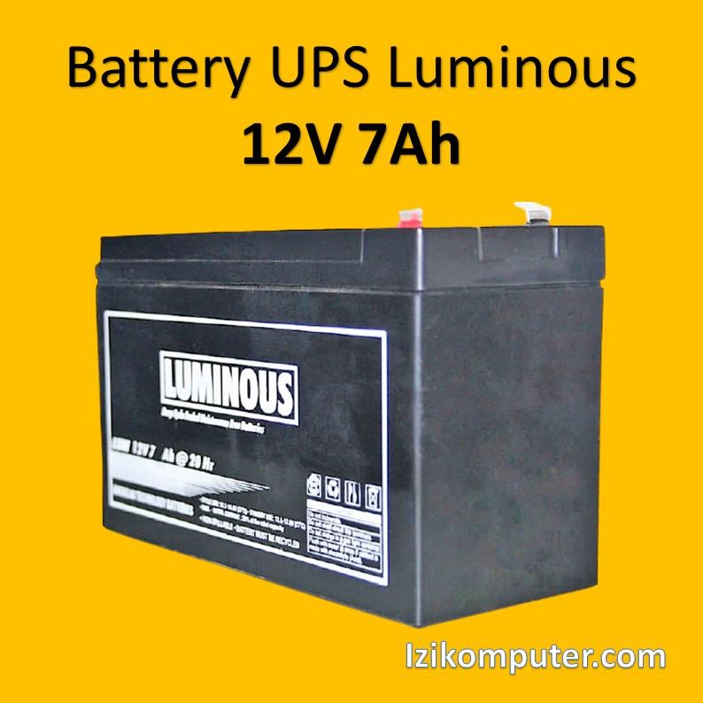 Battery UPS Luminous 12V 7Ah - 1