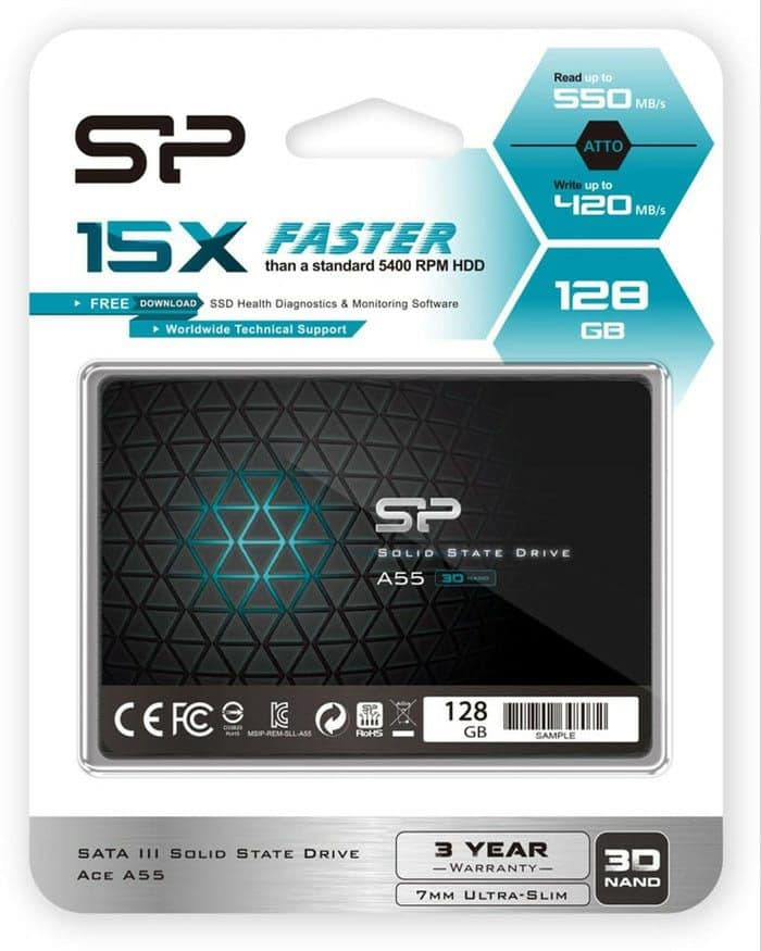 SSD 128GB Silicon Power