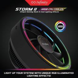 Fan Processor Infinity Storm II RGB