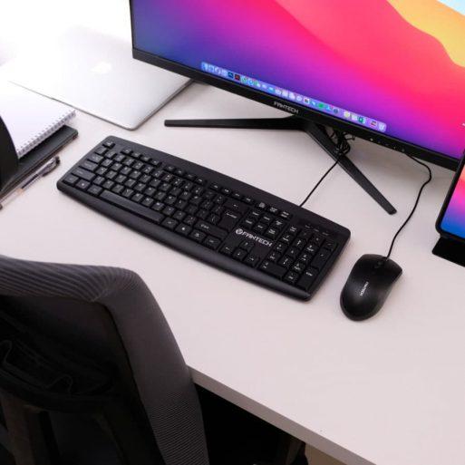 Fantech Keyboard Mouse Office KM100 - 3