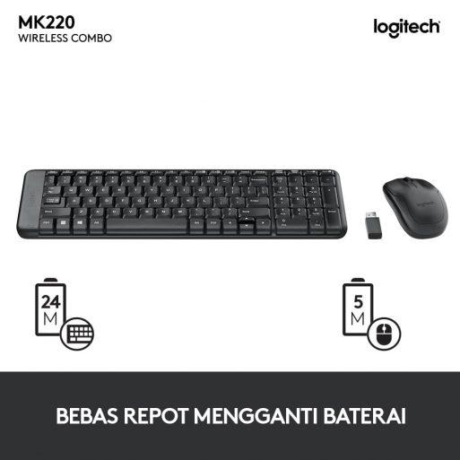 Logitech MK220 - 3