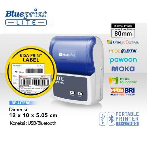 Printer Kasir Portable Bluetooth - Blueprint Lite 80 - 2