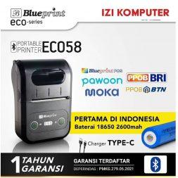 Blueprint Mini Printer Portable - Printer Portable - Printer Thermal Mini Bluetooth ECO58