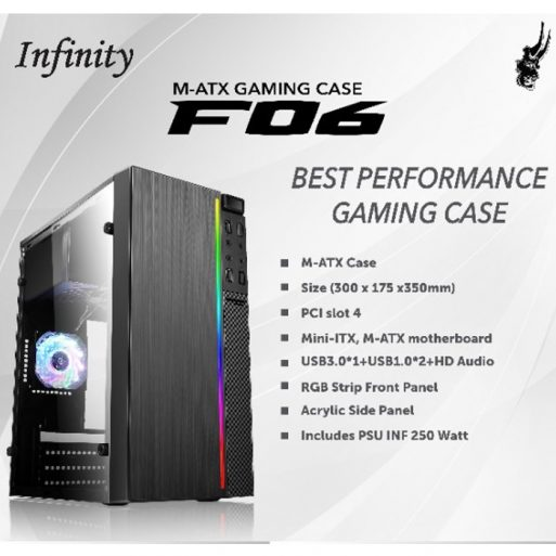 Gaming Case Infinity F06 M-ATX - 1
